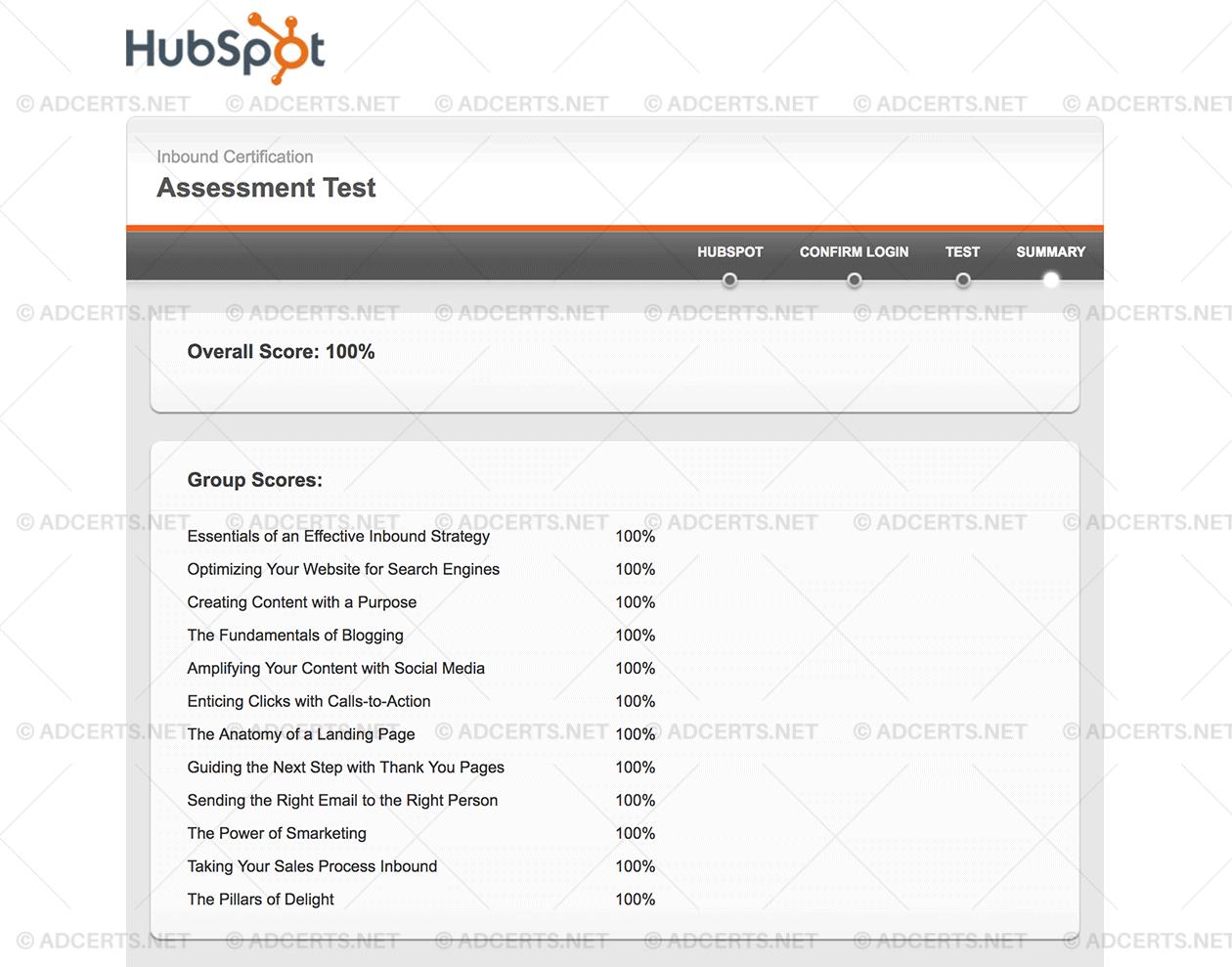 Hubspot Inbound Certification Exam Answers Adcerts