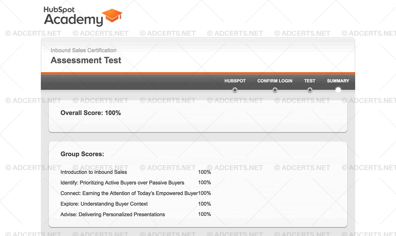 HubSpot Inbound Sales Certification Exam Answers | AdCerts