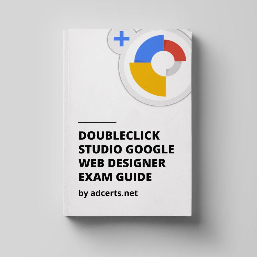 retired  doubleclick studio google web designer exam