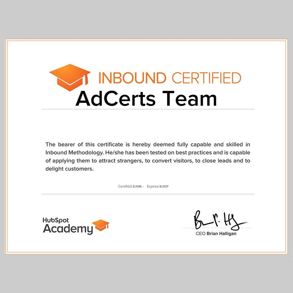 100 Pass Hubspot Inbound Certification Exam Answers Adcerts